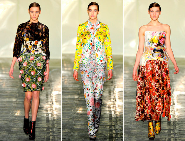 MaryKatrantzouFall2011FolliagePrintSuit