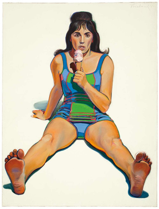 Thiebaud-girl-with-ice-cream-cone